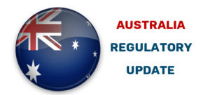 Australia regulatory update